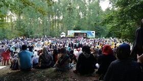 اقبال گسترده کودکان مازندرانی به اجرای نمایش تریلی سیار