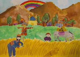 کسب پنج دیپلم افتخار کودکان و نوجوانان اصفهانی در مسابقه ی بین المللی نقاشی«محیط زیست» کره جنوبی