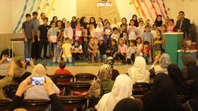 جشن پایان تابستان در مرکز محمدیه کانون قزوین