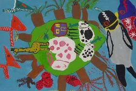 افتخارآفرینی عضو کانون فارس در هفتمین مسابقه بینالمللی نقاشی 'کائو' ژاپن