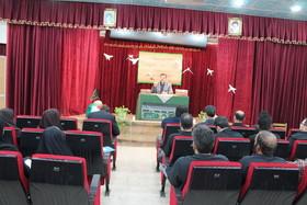 برگزاری مراسم زیارت عاشورا و تجلیل از خانواده شهدا و رزمندگان دفاع مقدس کانون خوزستان