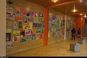 نمایشگاه آثار هنرجویان مرکز آفرینشهای فرهنگیهنری