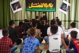 مراسم نوحه خوانی و عزاداری در مرکز زرین آباد کانون زنجان