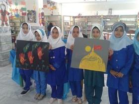 اعضا و مربیان مراکز فرهنگی- هنری سیستان و بلوچستان در سوگ شهیدان کربلا