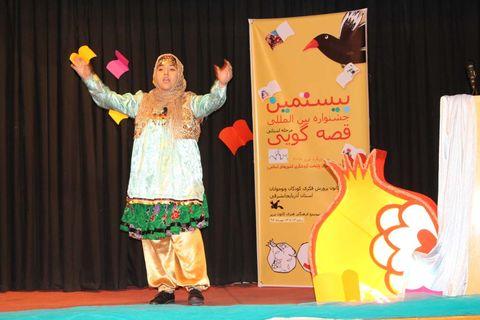 رقابت نوجوانان کانون آذربایجان شرقی برای راهیابی به مرحله نهایی بیستمین جشنواره بینالمللی قصهگویی