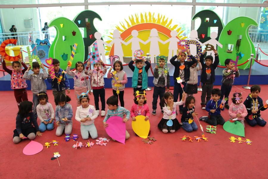 اولین روز از نمایشگاه هفته ملی کودک