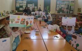 کودکان گمیشان آرزوهای خود را به «نشانی خدا» ارسال کردند