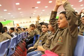 بازدید مدیر عامل کانون از نمایشگاه هفته ملی کودک