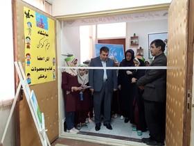 افتتاح نمایشگاه ترنم کودکی توسط الهیاری فرماندارآذرشهر