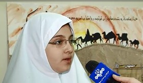 گزارش نمایشگاه قصه ها و خیمه های کانون پرورش فکری استان در بخش خبر سیمای مرکز اصفهان