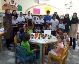 کودکان ناشنوا و کمشنوای گنبدی صدای مهربانی مربیان کانون را شنیدند
