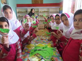 شور و حال ماه محرم همزمان با هفته ملی کودک در مرکز ۴ اردبیل