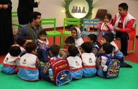 قصهگویی کتابهای کانون در هفته ملی کودک