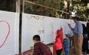 نقاشی خانواده در سنندج
