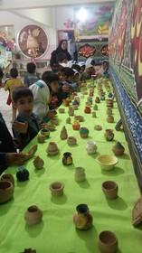 نمایشگاه آثار فرهنگی،هنری و ادبی اعضا به مناسبت هفته ملی کودک
