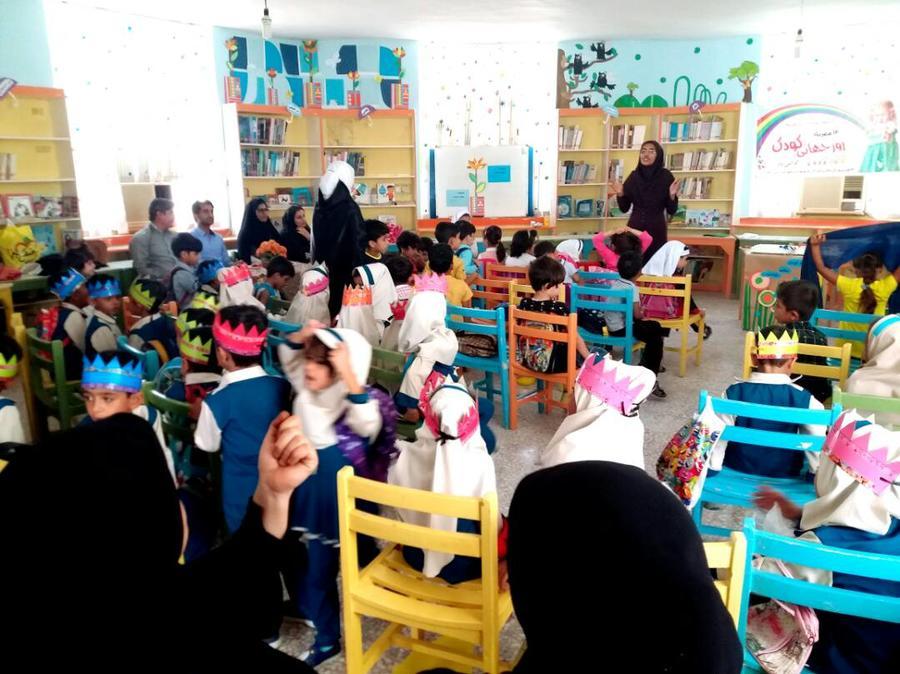 شور کودکی در هفتهی ملی کودک در شهرستان سیریک