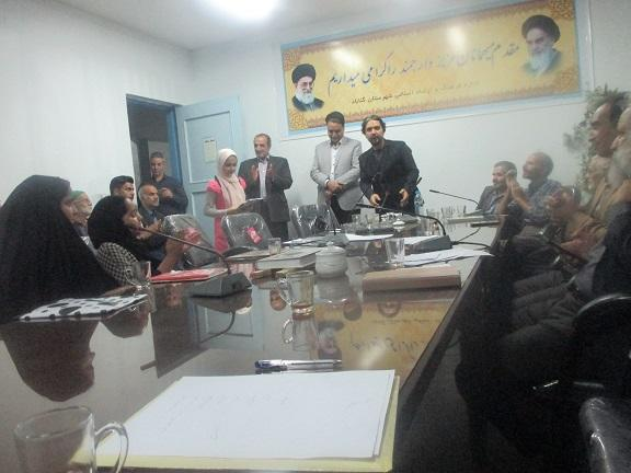 مهمانی شاعرانه با حضور اعضای مرکز شماره ۱ گناباد