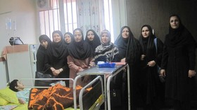 عیادات از بیماران کودک در هفته ملی کودک