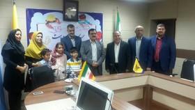 کودک خوزستانی تمبر طلای مسابقه ی بین المللی نامه نگاری  را کسب کرد