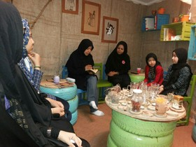 حافظ خوانی در کافه کتاب