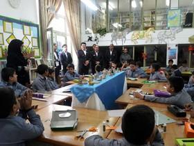 مدیر عامل سازمان آتشنشانی میهمان اعضای کانون در شهرستان نیشابور