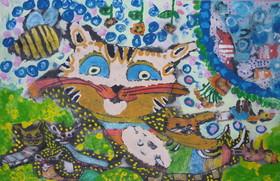 نشانهای نقره و برنز مسابقه نقاشی بینالمللی ژاپن به کودکان خوزستانی رسید