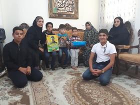 دیدار با فرزندان شهدای مدافع حرم در هفته ملی کودک