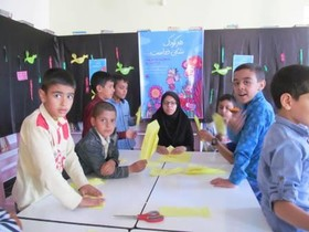 اجرای برنامههای متنوع در هفته ملی کودک در کانون سربیشه