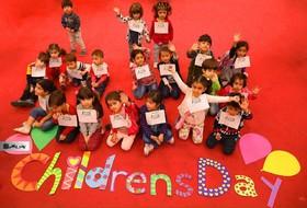 لبخند رنگارنگ کودکان در هفتهی ملی کودک