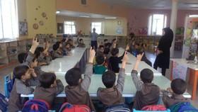 گزارش تصویری برنامه مشترک مرکز ۴ کانون استان قم و پایگاه خدمات اجتماعی و بهداشت در هفتهی ملی کودک
