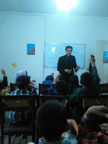 دیدار مربیان کانون خراسان جنوبی با کودکان کارِ موسسه مهر آفتاب