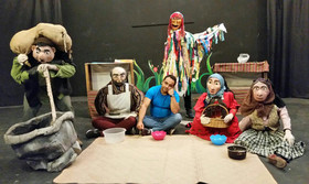 نمایش خیابانی «آش مهربانی» به جشنواره تئاتر کودک و نوجوان رسید