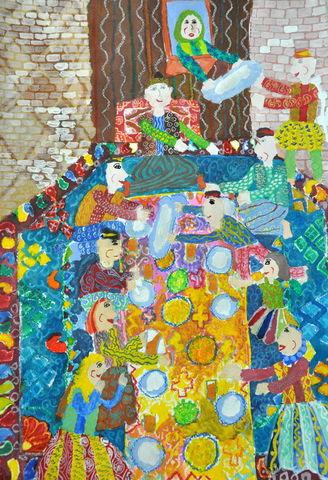 کسب نشان طلای مسابقه نقاشی هیکاری ژاپن  توسط عضو کانون خراسان جنوبی
