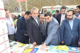 بازدید خدابخش استاندار آذربایجان شرقی از فعالیتهای کانون در پانزدهمین نمایشگاه کتاب تبریز