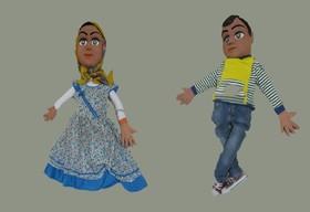 انتقال پیامهای تربیتی با نقشآفرینی عروسکهای دارا و سارا در قاب تلویزیون