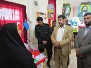 برگزاری مسابقه نقاشی مبارزه با استکبار جهانی در کانون پرورش فکری کودکان و نوجوانان شهرستان حمیدیه