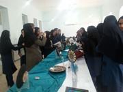 افتتاح نمایشگاه آثار نقاشی نقطهای عضو کانون پرورش فکری در بندر امام