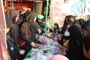 اهدا دل سازهی کودکان ایرانی به مسافران کربلا در مرز شلمچه