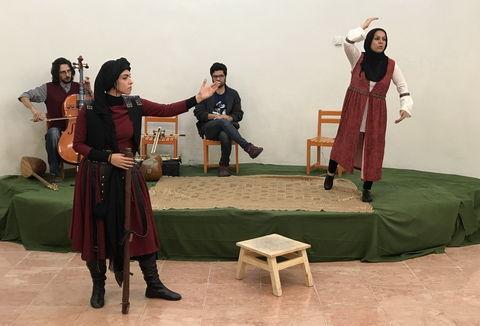 """اجرای """"نقل نغز گرد آفرید"""" در مراکز تهران"""