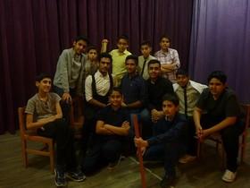 یکروز با اعضای نوجوان کارگاه تئاتر مرکز فرهنگی هنری شماره۴ مشهد