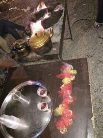 دل سازههای حسینی اعضای مرکز شماره 3 کانون استان قم  در مرز چزابه به دست زوار رسید