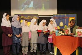 دیدار کودکان تهرانی با مصطفی رحماندوست