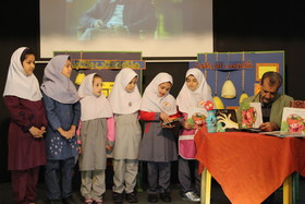 حضور مصطفی رحماندوست به مناسبت هفته کتاب در کانون استان تهران
