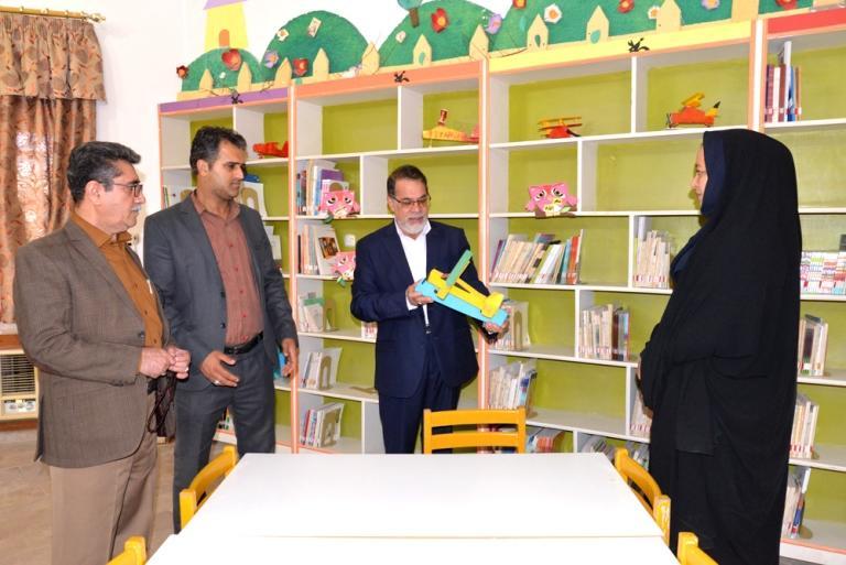 بازدید فرماندار ابوموسی از کانون