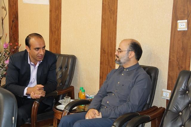 دیدار مدیرکل کانون کرمان با بخشدار چترور