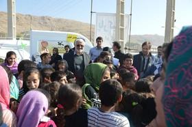 ادامه امدادرسانی فرهنگی کانون به کودکان مناطق زلزلهزده استان کرمانشاه