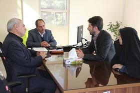 جلسه معاون فرهنگی کانون با مدیر مجموعه بوستان ترافیک