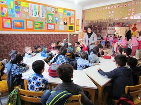 بازدید 350 نفر از نوآموزان پیش دبستانی از مرکز شماره یک سقز
