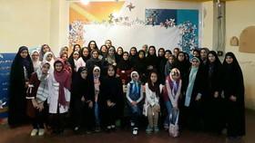 نشست انجمن ادبی اعضای نوجوان مرکز تخصصی 15 کانون تهران