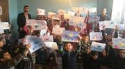 همکاری فرهنگی کانون استان قزوین با یک اردوی جهادی